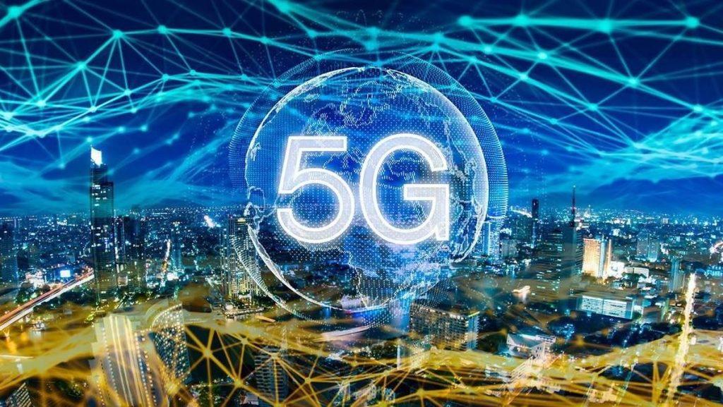 Ilustração de 5G