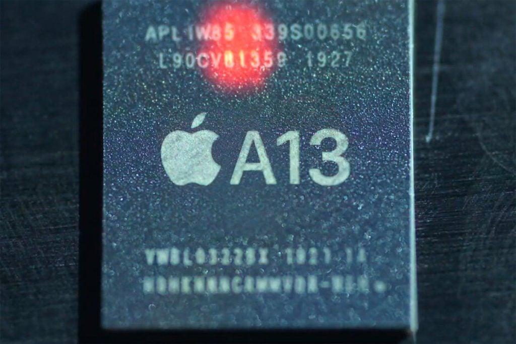 Processador a13 da apple