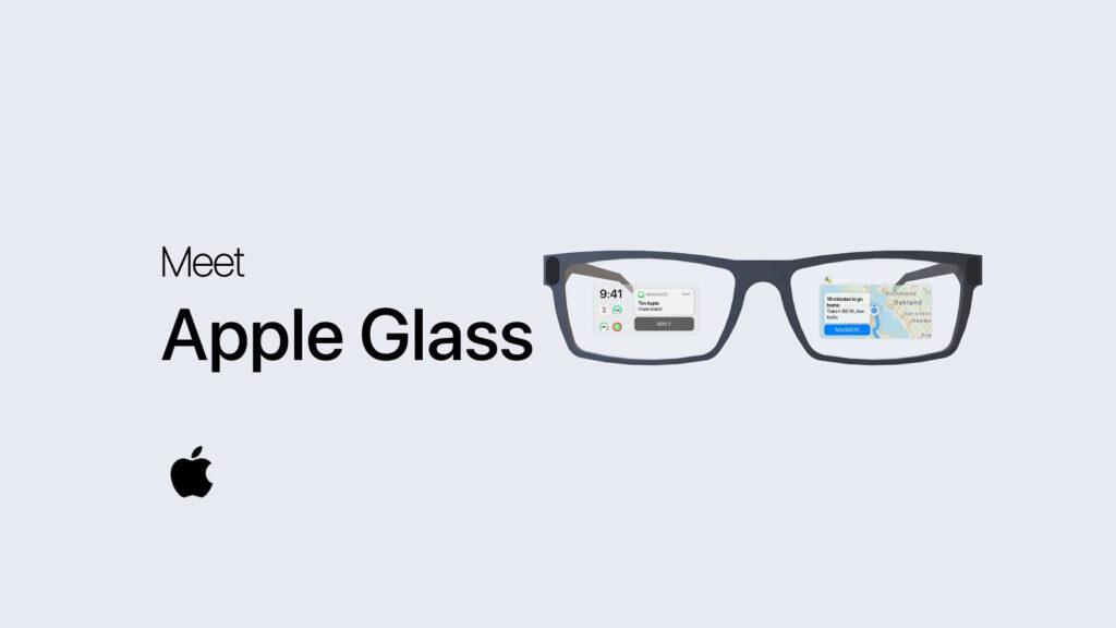 Conceito do apple glass