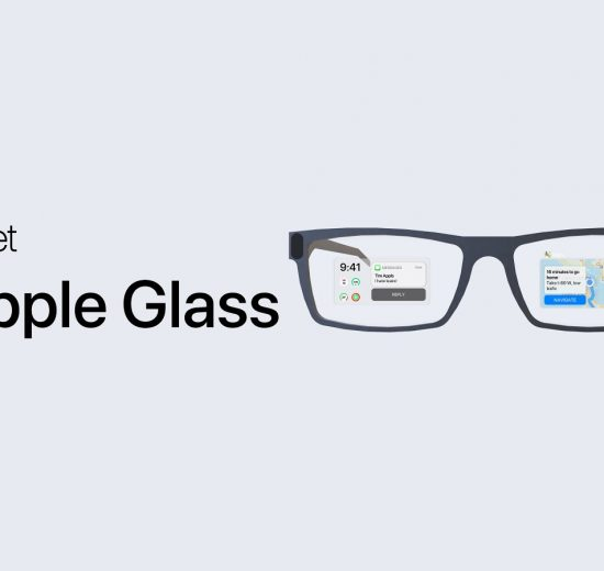 Conceito do Apple Glass