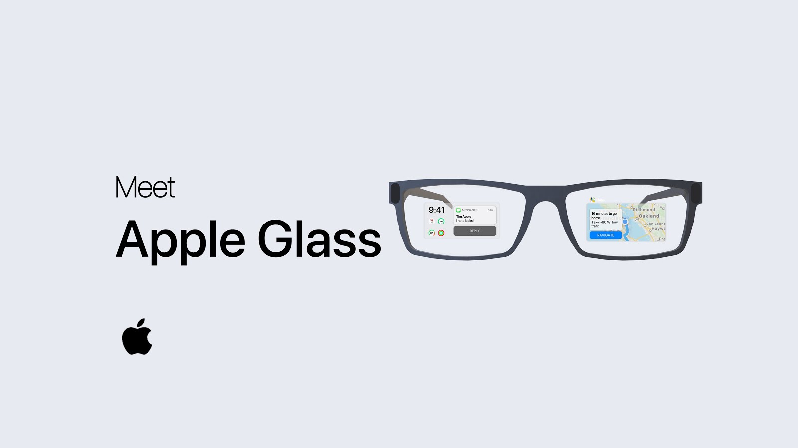 Apple glass destaque