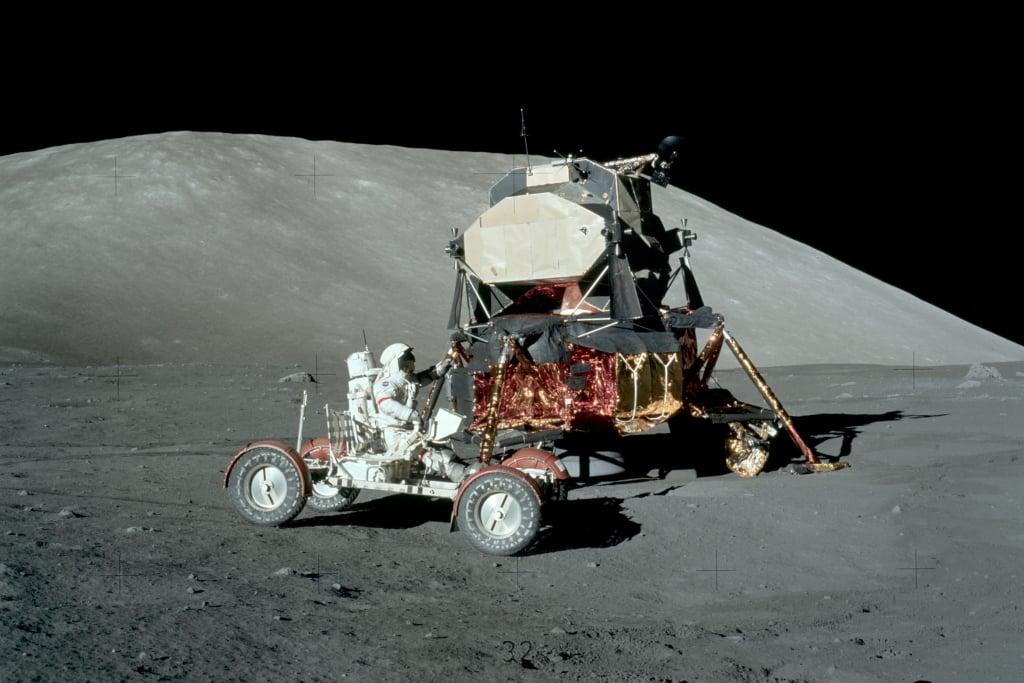 Veículo Lunar norte americano Lunar Roving Vehicle