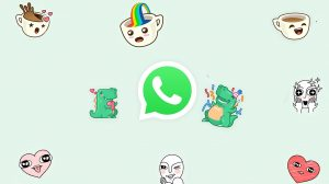 Figurinhas animadas do WhatsApp