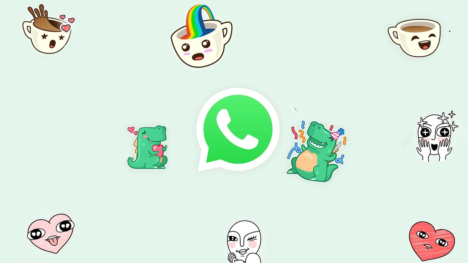 Destaque figurinhas animadas whatsapp