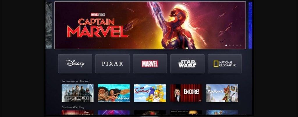 O Disney+ tem como objetivo colocar os grandes lançamentos da empresa na plataforma logo após que saírem do cinema.