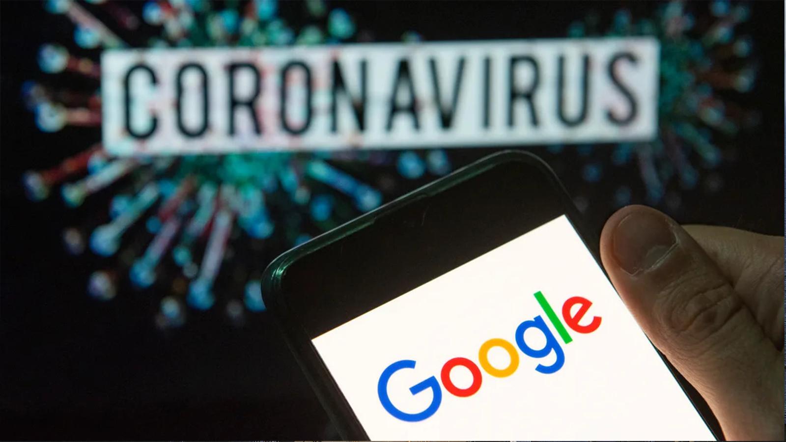 Google ads covid conspiração