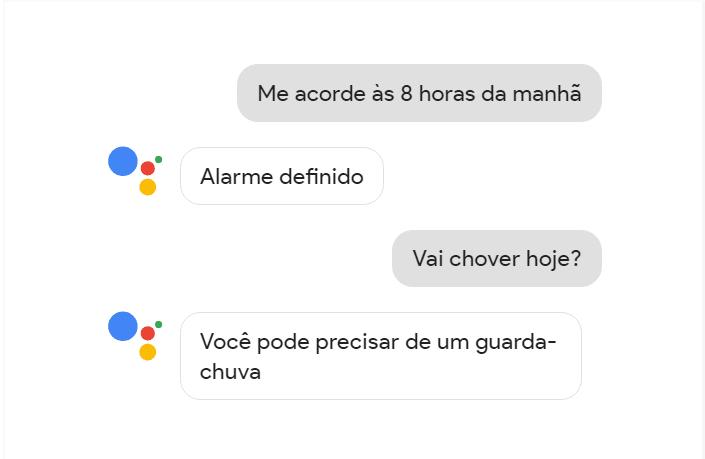 O google assistente vai facilitar a sua vida, e como pode pergunta-lo sobre como está o tempo ou definir um alarme.