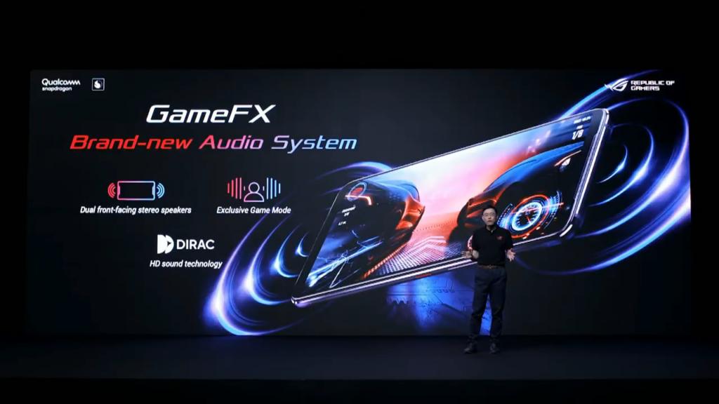Sistema de som do ROG Phone 3