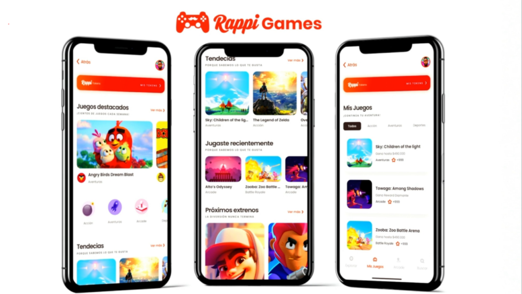 Rappi Entertainment chega ao Brasil com o Rappi Games