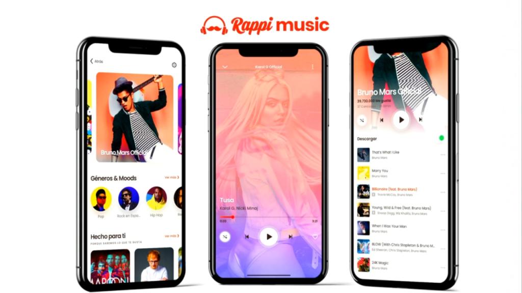 Rappi music chega ao brasil junto com o rappi entertainment