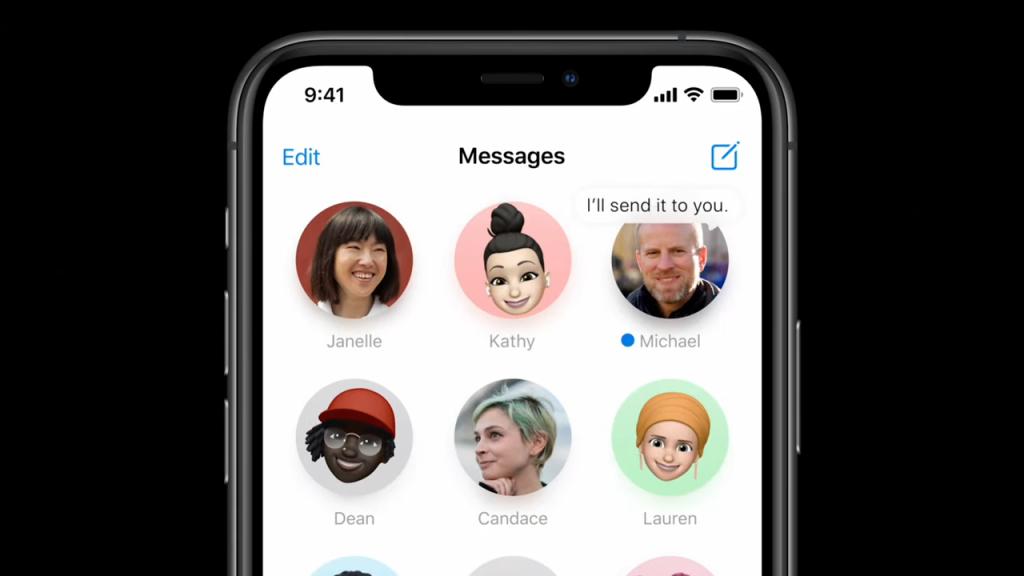 Conversas fixadas no iOS 14