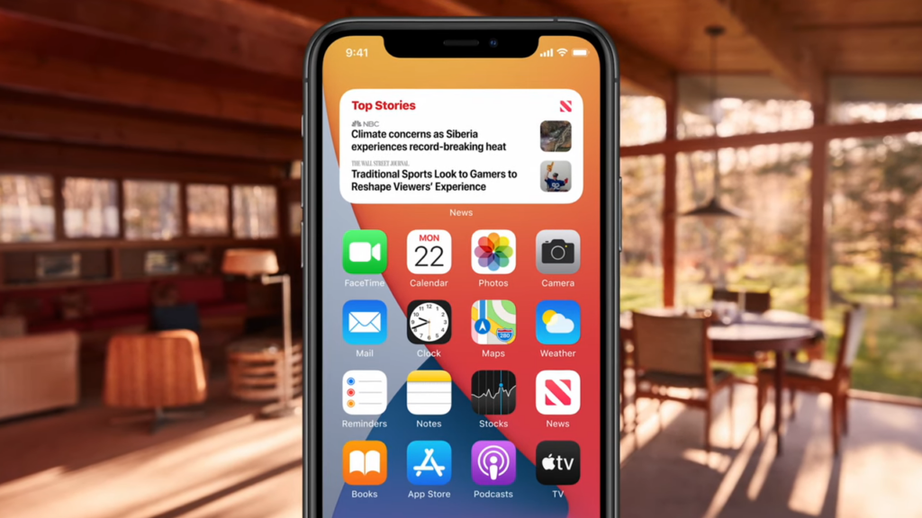 Widgets no novo iOS 14