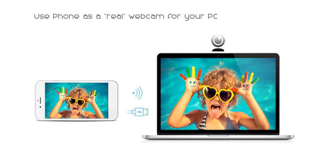Alguns aplicativos, como o ivcam, possuem a função de deixar seu celular como webcam