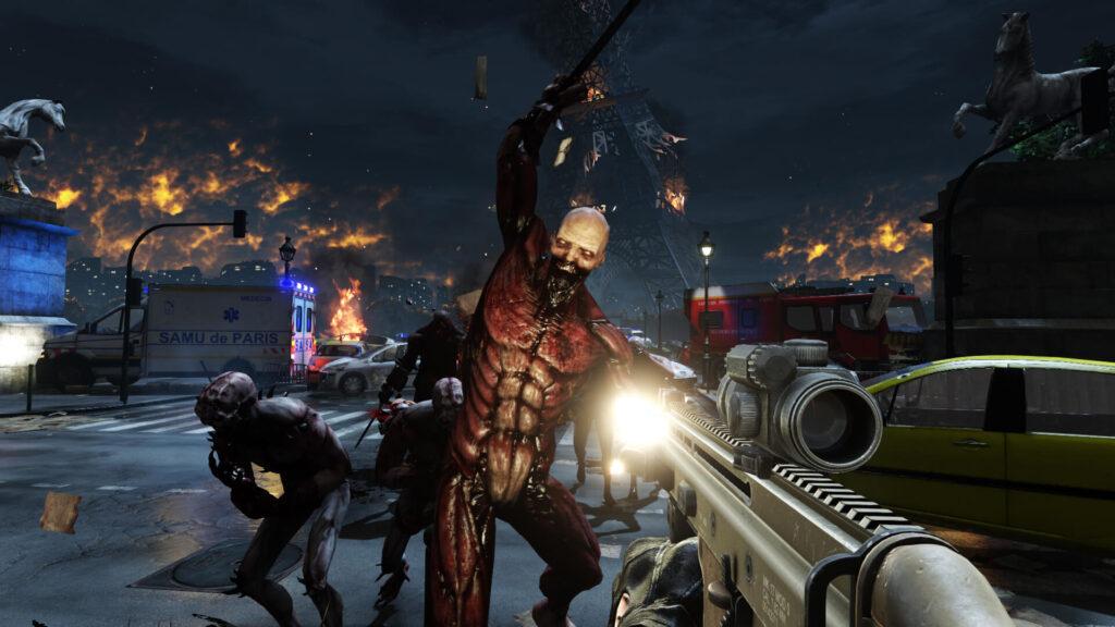 Um dos maiores marcos de Killing Floor 2 é sua violência explicita e inimigos com aparências assustadoras.