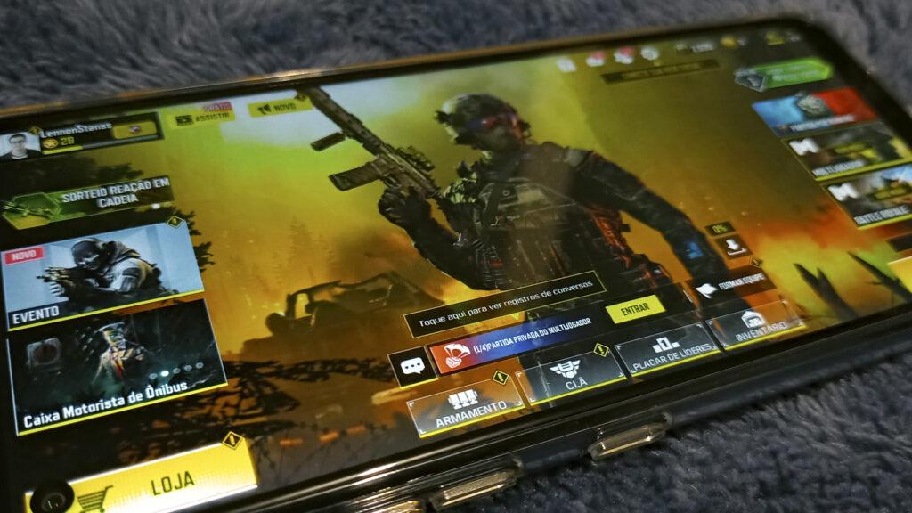 LG K61 COD Mobile