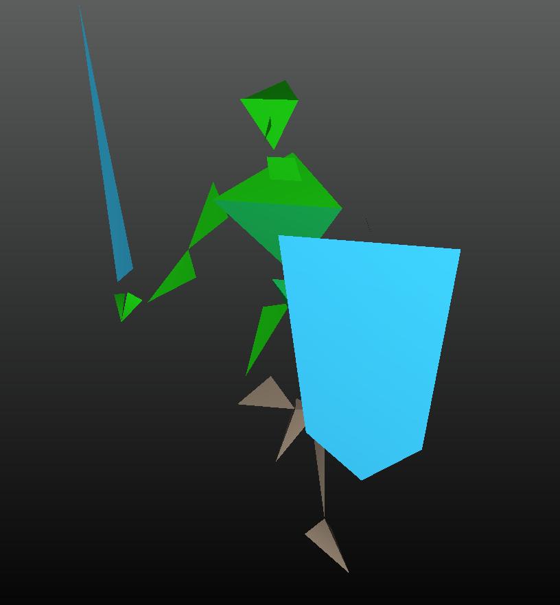 O vazamento da nintendo revelou uma versão inicial do link em super mario 64.