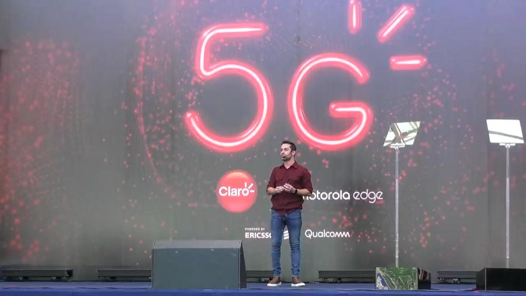 Pioneira no 3G e 4G no Brasil, a Claro chega com a tecnologia 5G em breve