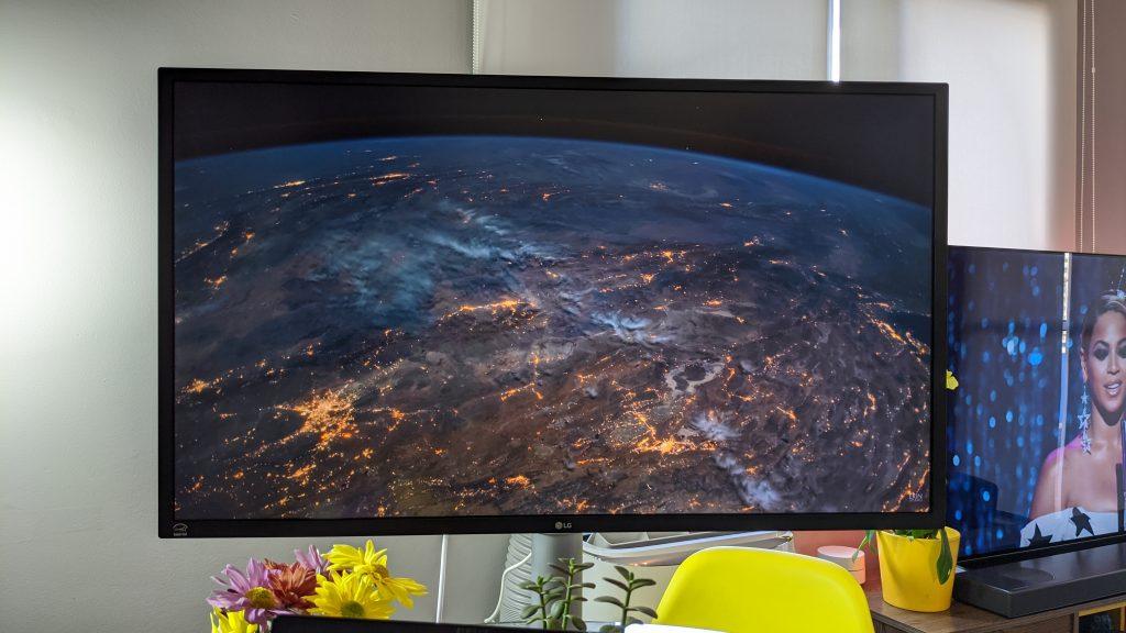 Monitor 4K UHD LG 32UL750-W