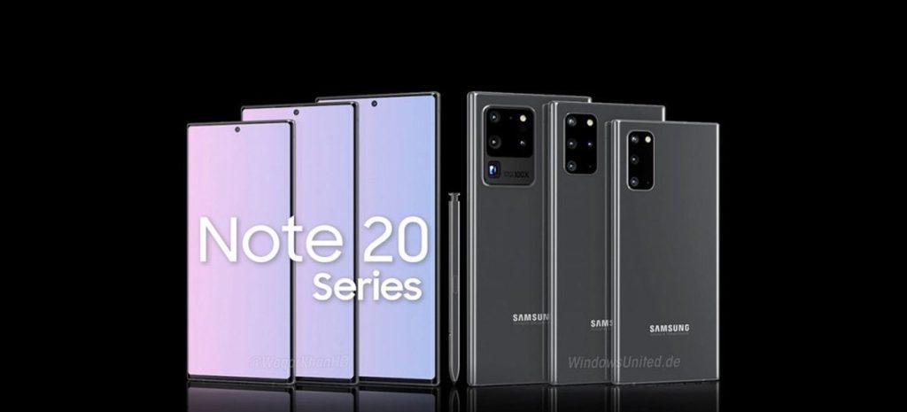 Outro vazamento do Samsung Note 20