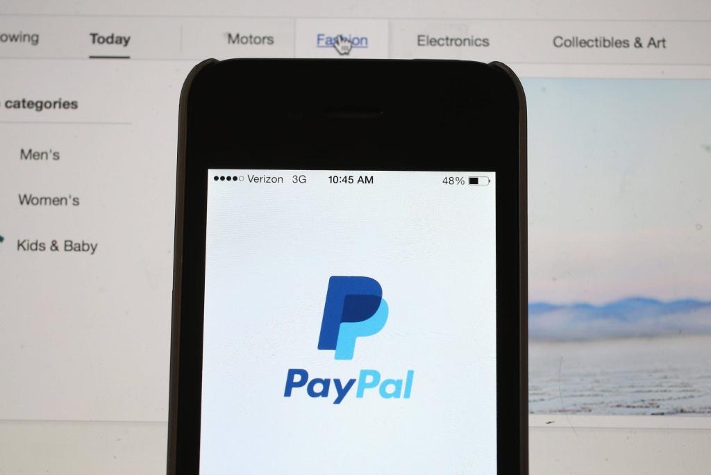 Smartphone com paypal