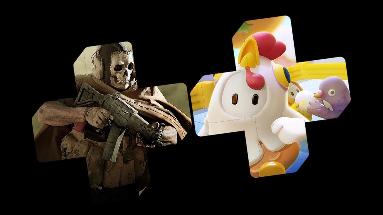 PS Plus de agosto traz Call of Duty: MW2 Remastered e Fall Guys