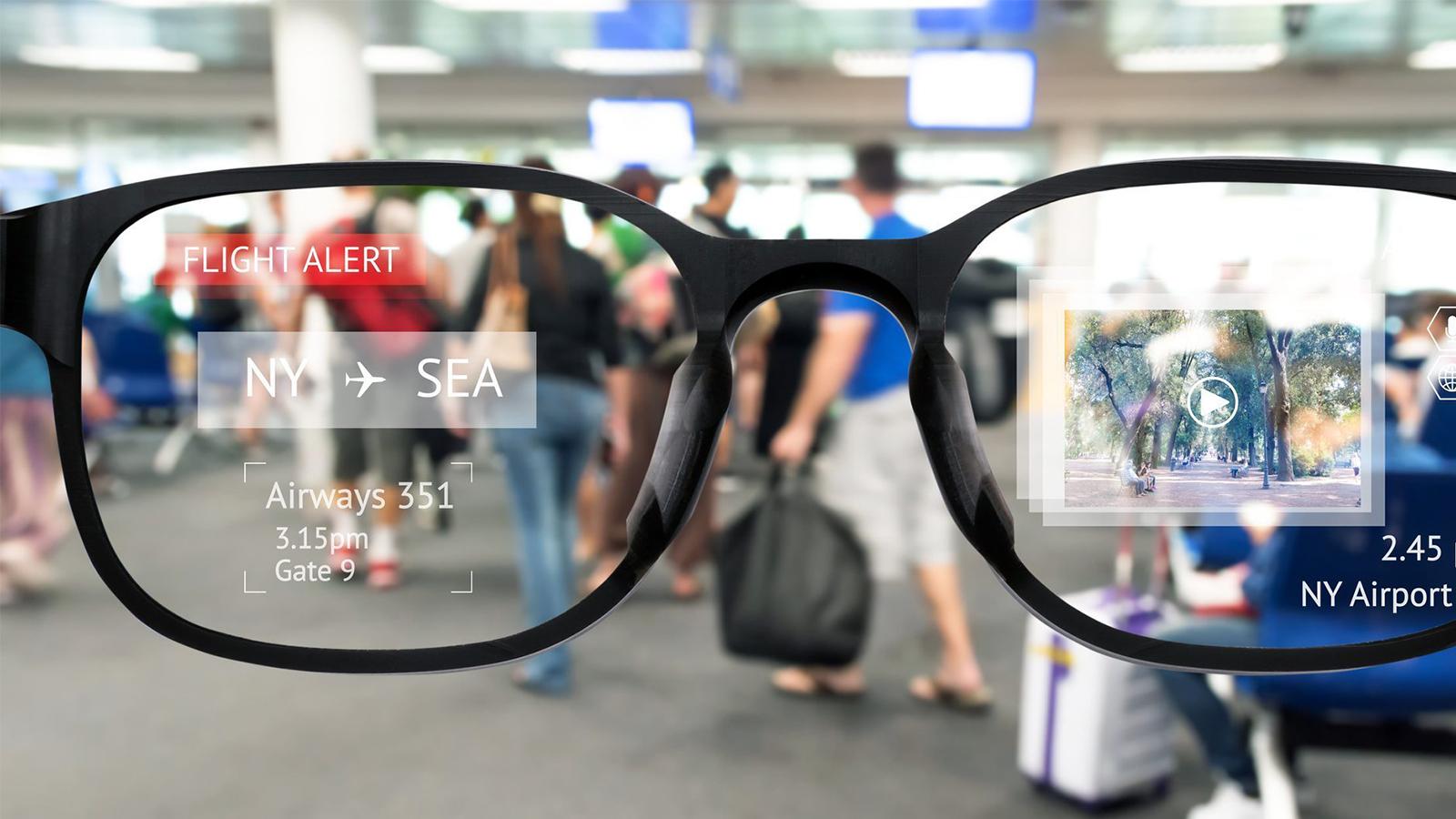 Realidade aumentada óculos