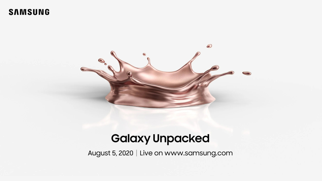 Imagem do Galaxy Unpacked 2020
