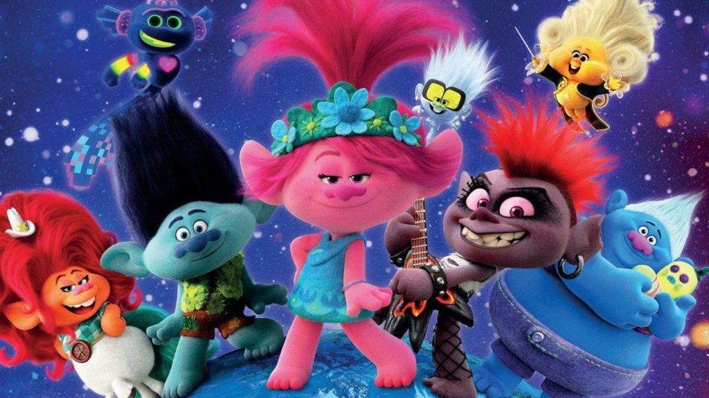 Cartaz do filme da universal trolls 2