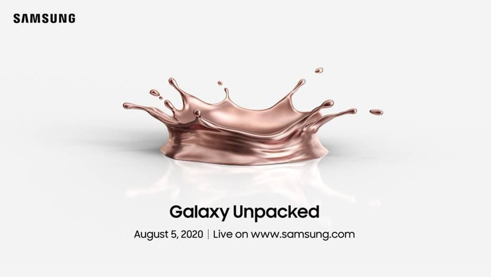 Anúncio da Samsung Unpacked