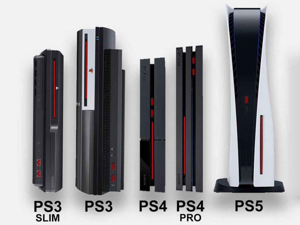 Ps5 comparação de tamanho