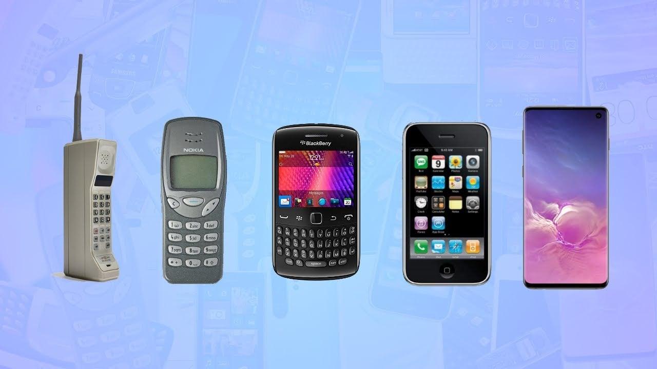 A história do celular e do smartphone: uma viagem tecnológica