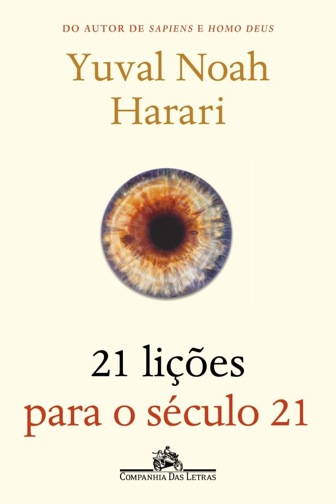 Capa do livro 21 lições para o século 21
