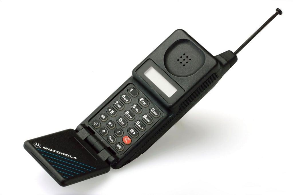 Historia do celular começa com esse modelo microtak