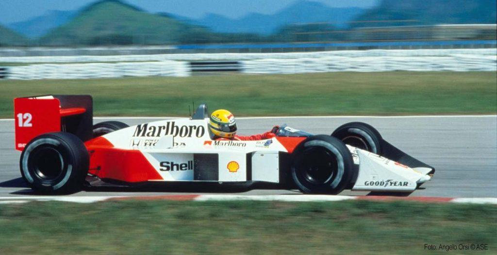 Parceria entre amazon e fórmula 1 usa machine learning para dizer quem foi o mais piloto mais rápido do esporte (imagem: reprodução/ayrton senna)