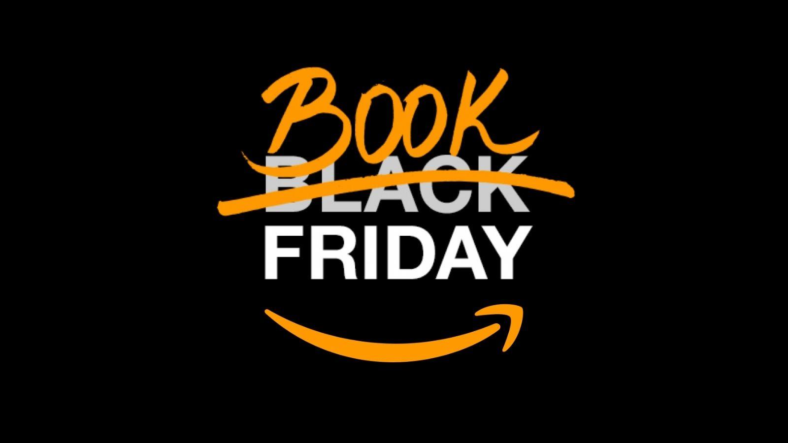 Logo da book friday da amazon