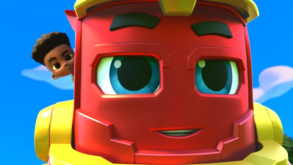 Cena da animação 'expresso da aventura'