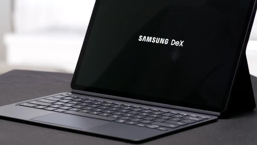 O samsung dex permite utilizar seu galaxy tab s7 e s7+ como computador.