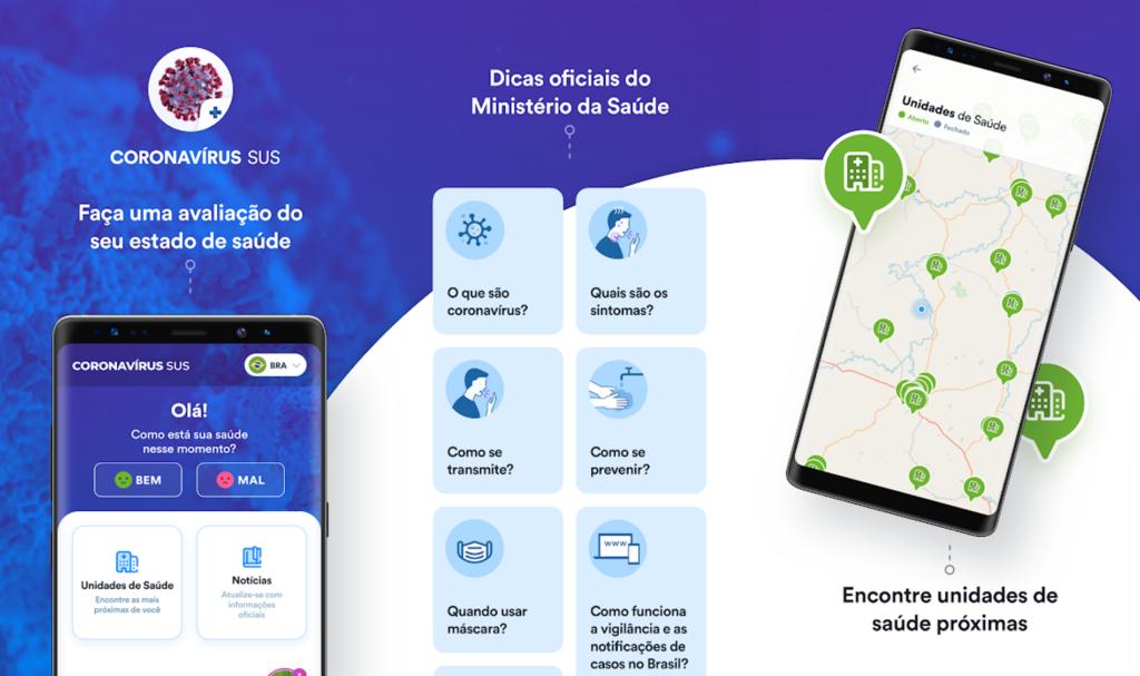 App - Ministério da Saúde - Coronavírus SUS