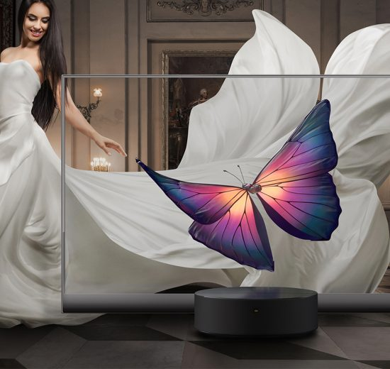 Xiaomi lança o Mi TV LUX OLED Transparent Edition, a primeira TV transparente do mundo
