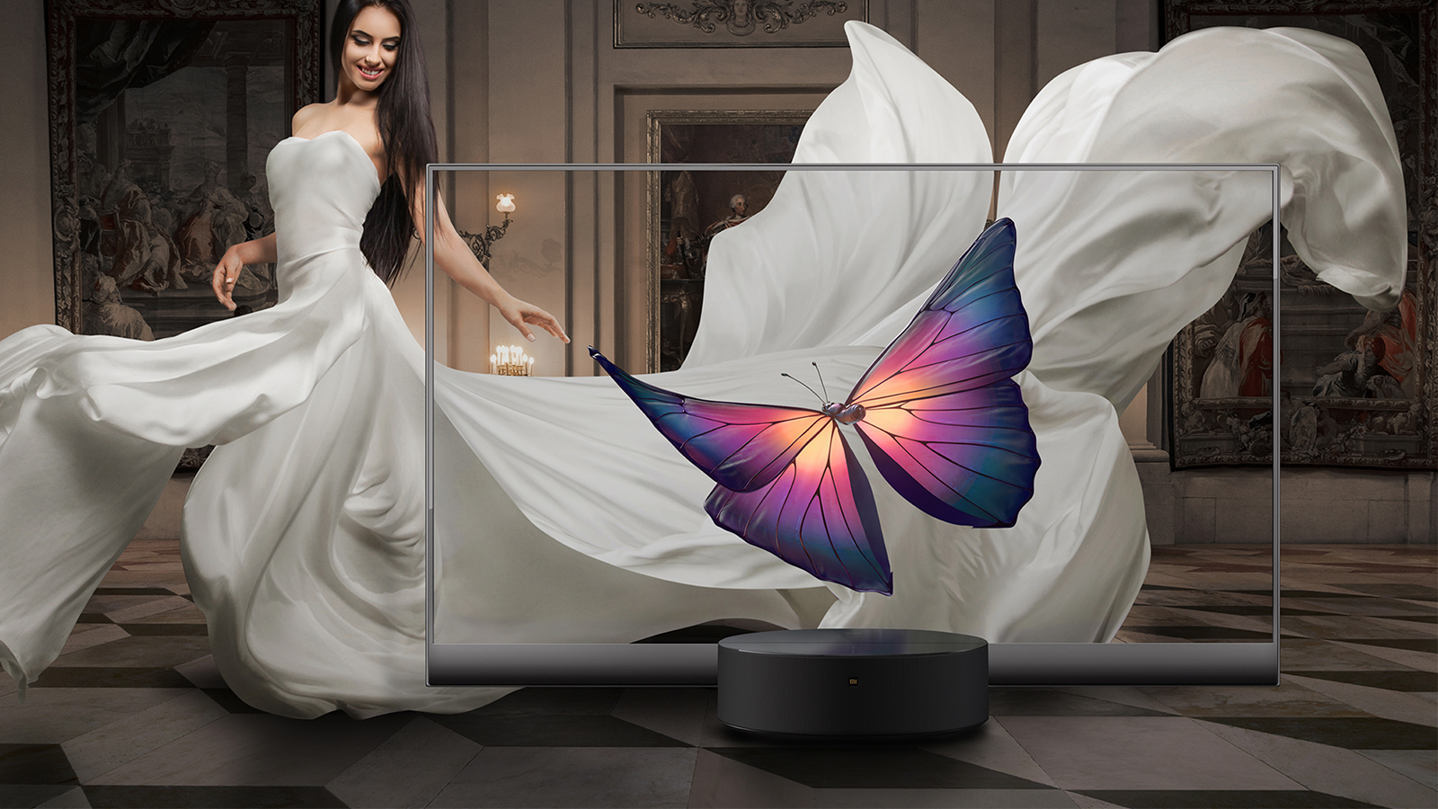 Mi tv lux oled transparent edition capa