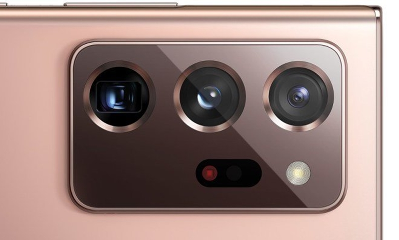 Câmeras do galaxy note 20 ultra