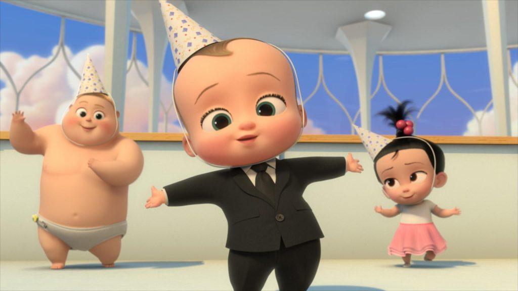 Cena da animação 'o chefinho: pega esse bebê'