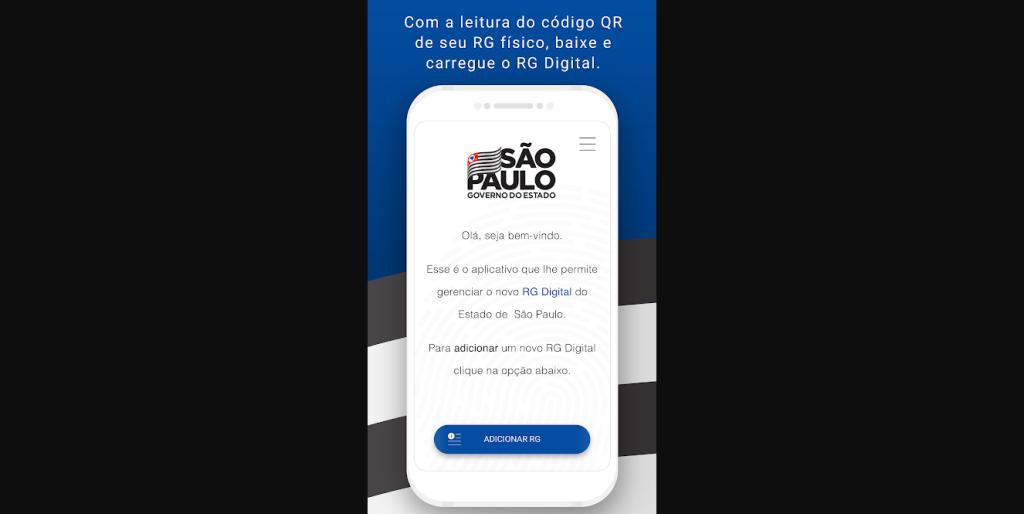 RG Digital já está disponível para usuários de smartphones de São Paulo, por meio de app dedicado (Captura de Imagem: Rafael Arbulu/Showmetech)