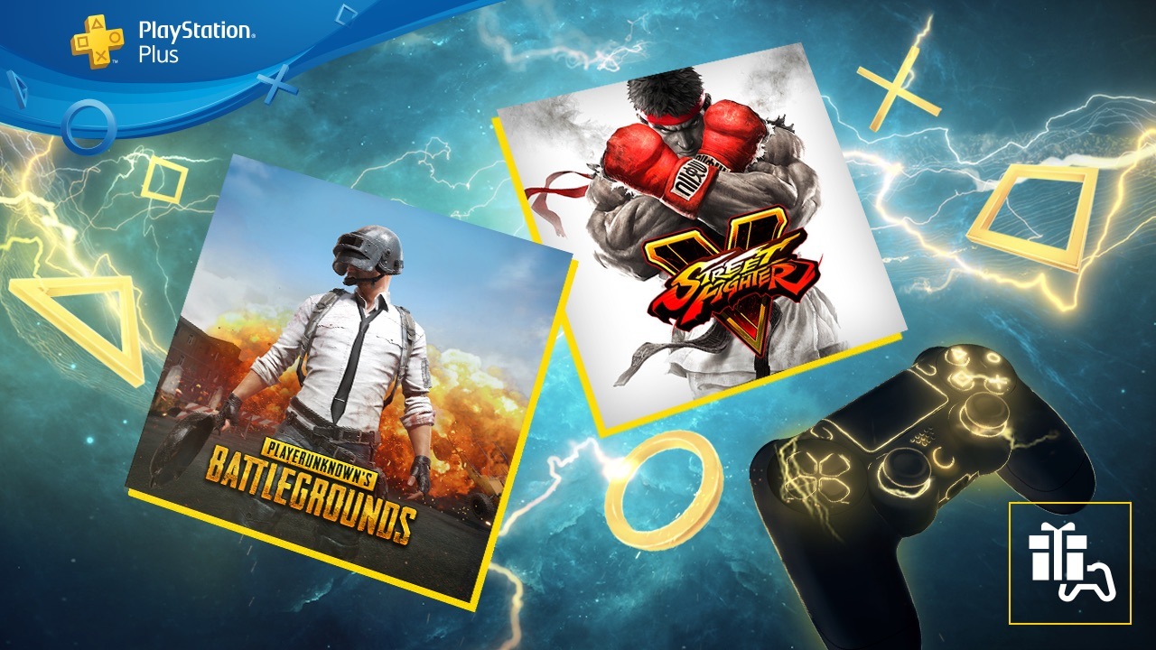 PS Plus de setembro traz Street Fighter V e PUBG