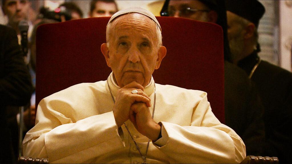 Cena do documentário 'papa francisco: um homem de palavra'