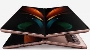 Samsung galaxy z fold 2 rose capa scaled