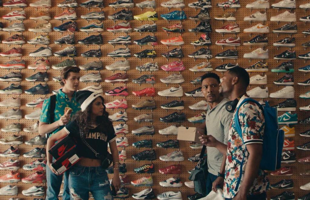 Cena da série 'sneakerheads'