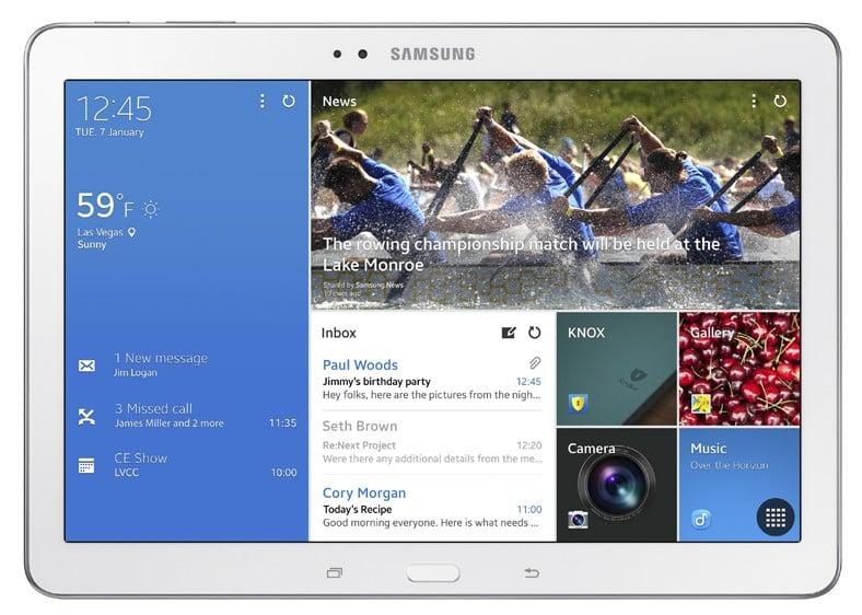 O Galaxy Tab Pro 10.1 foi lançado em 2014