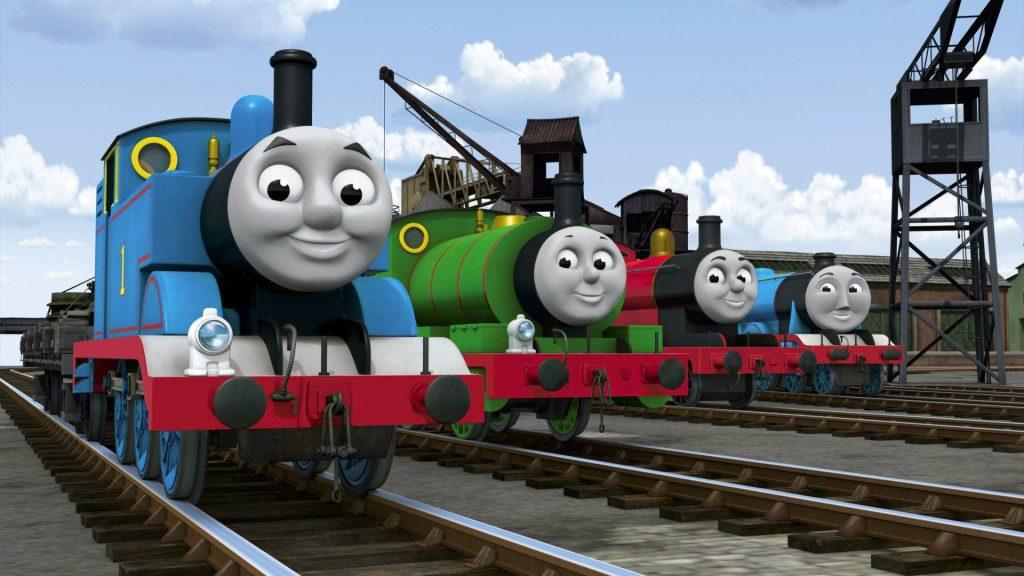 Imagem da animação 'thomas e seus amigos'
