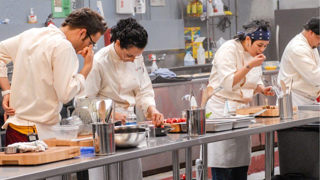 Cena da série top chef que chega a netflix em setembro